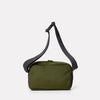 Pendle Travel & Cycle Body Bag in Army Green Back