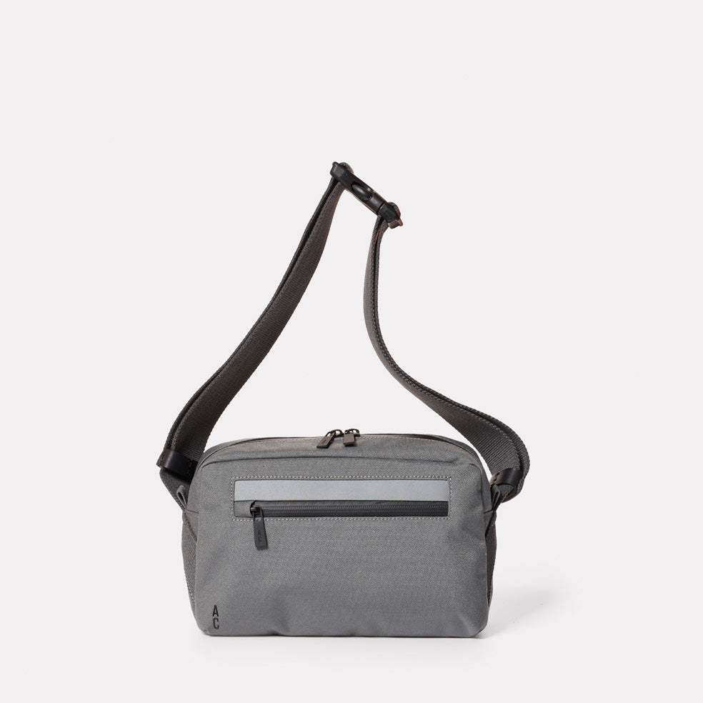 Pendle Travel and Cycle Body Bag in Grey