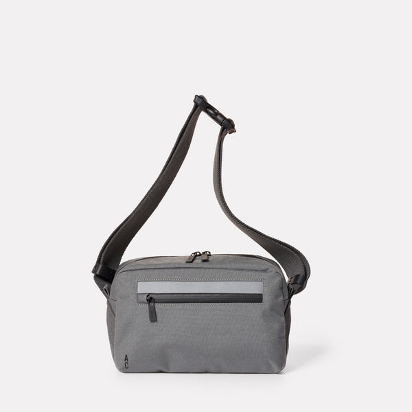 Pendle Travel and Cycle Body Bag in Grey-BODY BAG-Ally Capellino-Grey-Travel Cycle-Cordura-Nylon-Travel Bag