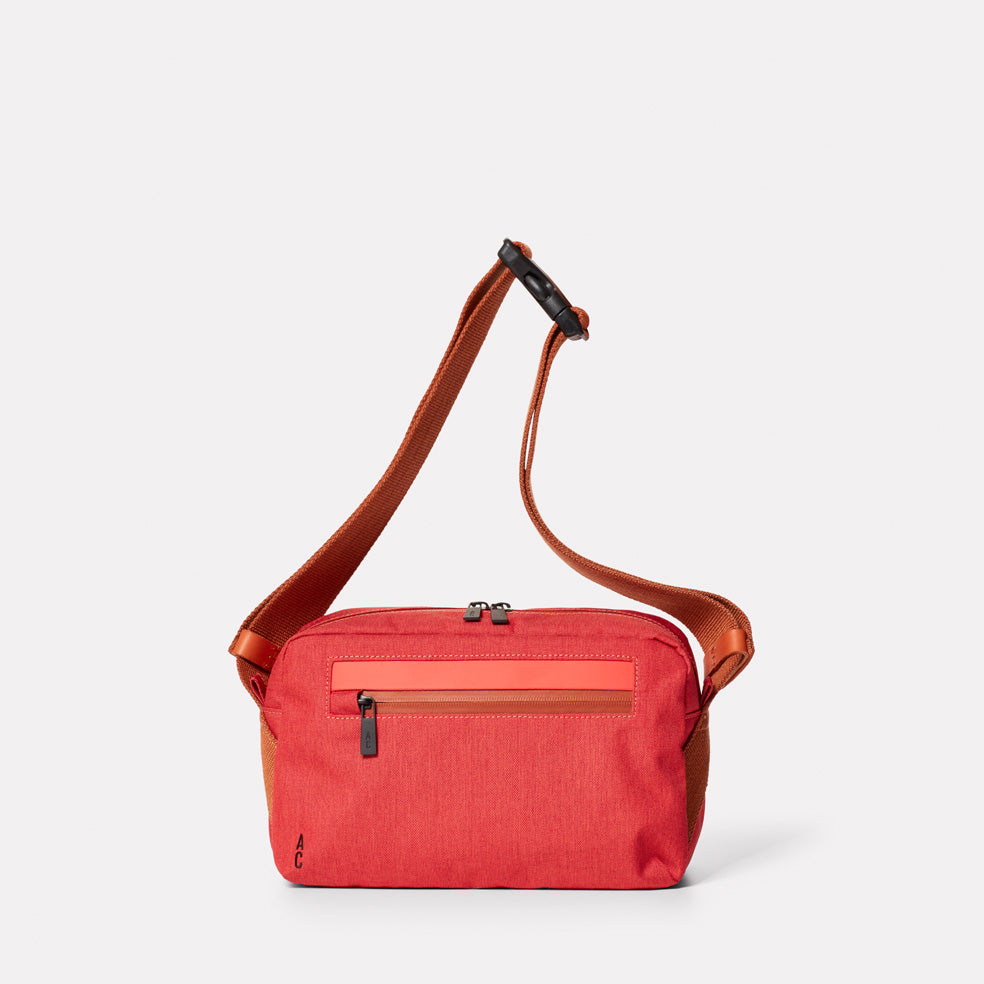 Pendle Travel and Cycle Body Bag in Red