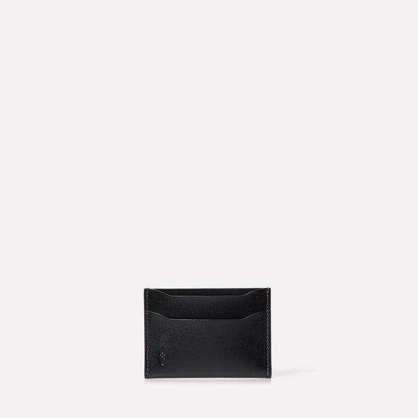 Pete Leather Card Holder in Black-CARD HOLDER-Ally Capellino-Leather-Small Leather Goods-leather accessories-black-black leather
