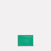 Pete Leather Card Holder in Green-CARD HOLDER-Ally Capellino-Small Leather Goods-Green-Leather