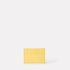 Pete Leather Card Holder in Yellow-CARD HOLDER-Ally Capellino-Ally Capellino