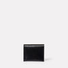 Riley Leather Coin Card Purse in Black-COIN / CARD HOLDER-Ally Capellino-Leather-Small Leather Goods-leather accessories-black-black leather