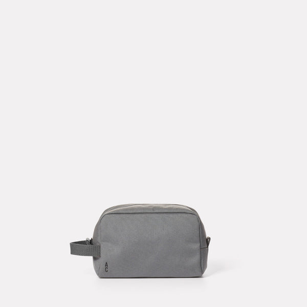 Simon Travel and Cycle Washbag in Grey-WASH BAG-Ally Capellino-Grey-Travel Cycle-Cordura-Nylon-Travel Bag