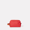 Simon Travel and Cycle Washbag in Red-WASH BAG-Ally Capellino-Red-Travel Cycle-Cordura-Nylon-Travel Bag