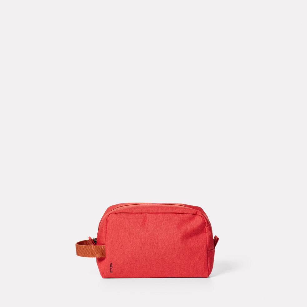 Simon Travel and Cycle Washbag in Red