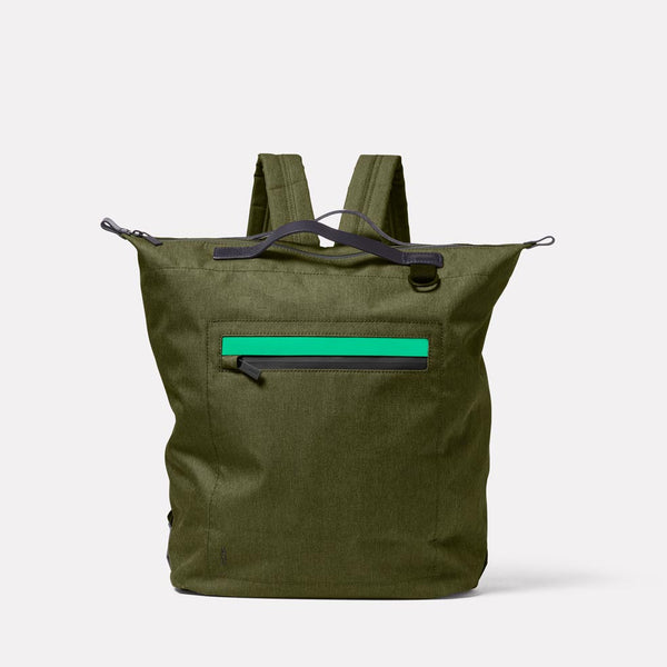 Hoy Travel & Cycle Rucksack in Army Green