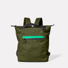 Mini Hoy Travel/Cycle Backpack in Army Green