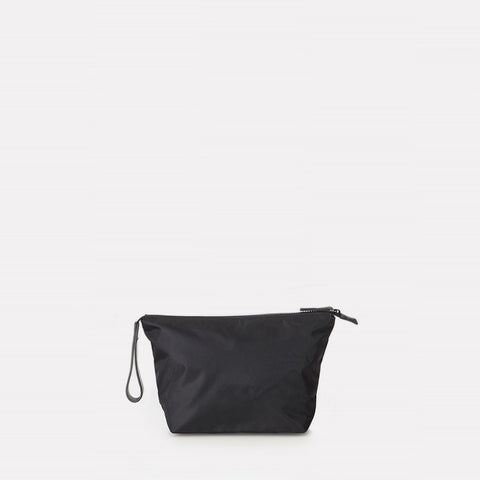 iRa Luxe Nylon Washbag In Black