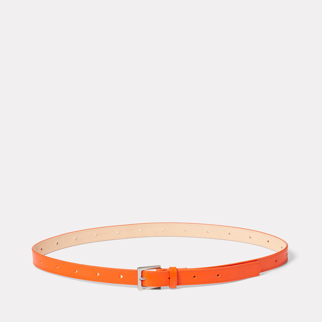 Arty Leather Belt in Flame