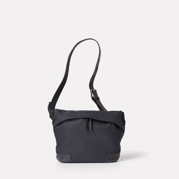 Womens, body bag, travel bag, crossbody bag, SS19, mens, unisex, navy bag, granular, navy body bag, navy cycle bag, navy crossbody bag, dark blue, ink, nylon body bag, nylon, navy travel bag, dark blue, mens body bag, womens body bag, bum bag,