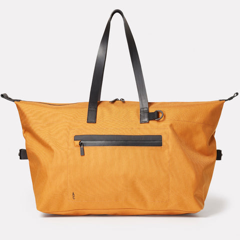 Travel bag, SS19, nylon, mens, womens, holdall, unisex, orange, travel, large bag,