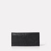 Evie Long Leather Purse in Black-SMALL LEATHER GOODS-Ally Capellino-Ally Capellino