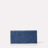 Evie Long Calvert Leather Purse in Navy-SMALL LEATHER GOODS-Ally Capellino-Ally Capellino