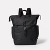 Fin Waxed Cotton Backpack in Black-TALL RUCKSACK-Ally Capellino-Ally Capellino-Black-Waxed_Cotton