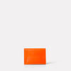 Fletcher Leather Card Holder in Flame-SMALL LEATHER GOODS-Ally Capellino-Ally Capellino