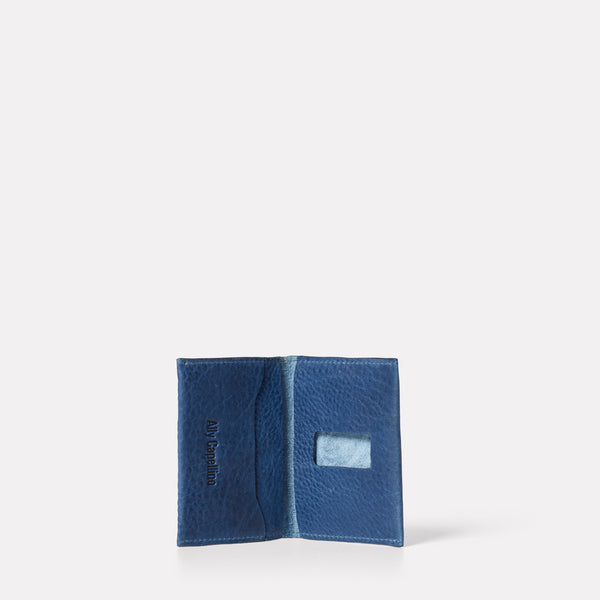 SS19, small leather goods, womens, mens, leather, purse, wallet, leather purse, navy, nevy leather, navy leather purse, leather wallet, card holder, leather card holder, navy card holder, navy leather card holder, blue