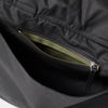 Freddie Waxed Cotton Holdall in Black-Holdalls-Ally Capellino-Ally Capellino