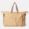 Freddie Waxed Cotton Holdall in Sand-TRAVEL BAG-Ally Capellino-Ally Capellino