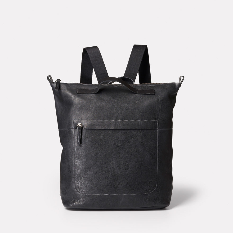 813761a659d Hoy Mini Leather Backpack in Black