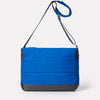 Jeremy Waxed Cotton Satchel in Cobalt-SATCHEL-Ally Capellino-Ally Capellino