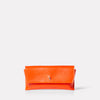 SS19, glasses case, sunglasses case, leather glasses case, leather sunglasses case, orang, orange leather, orange glasses case, orange sunglasses case, womens, mens,