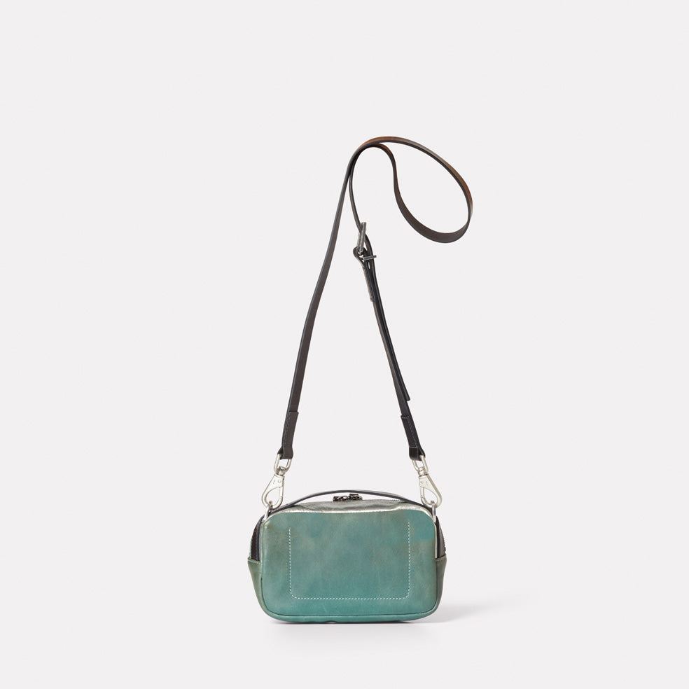 ... Ally Capellino, Leather, Shoulder bag, leather, mint, green, bag, bafb0440d2