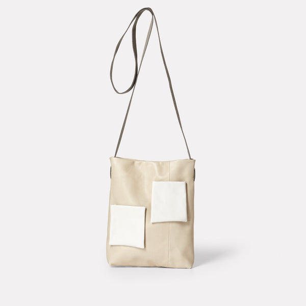 Womens, SS19, shoulder bag, mini bag, leather bag, crossbody bag, leather handbag, leather tote bag,  beige, sand, white, cream, beige leather bag, beige tote bag, leather crossbody bag, leather shoulder bag, beige shoulder bag, beige handbag, mini tote, leather tote