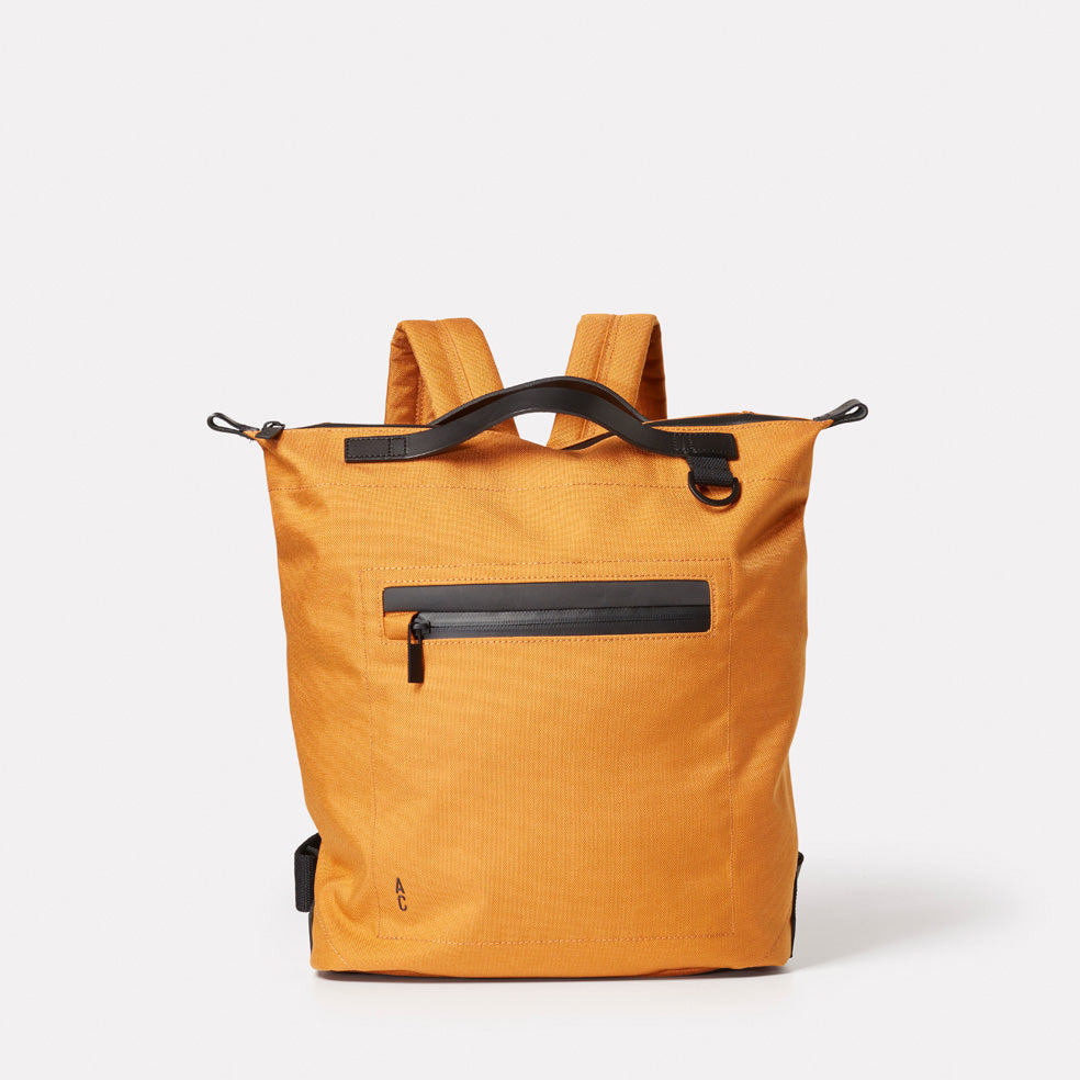 Mini Hoy Travel and Cycle Backpack in Orange