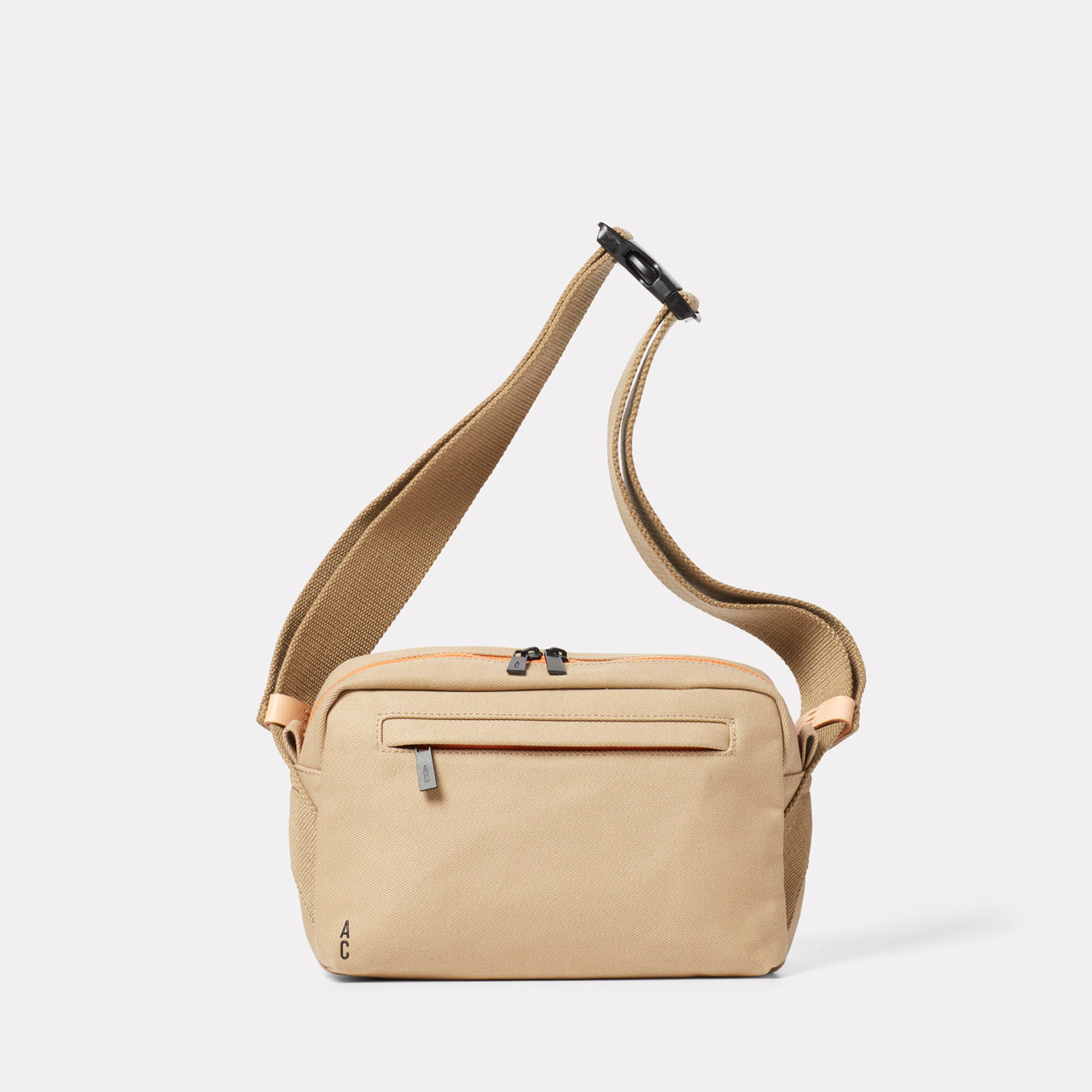 Pendle Travel & Cycle Body Bag in Beige