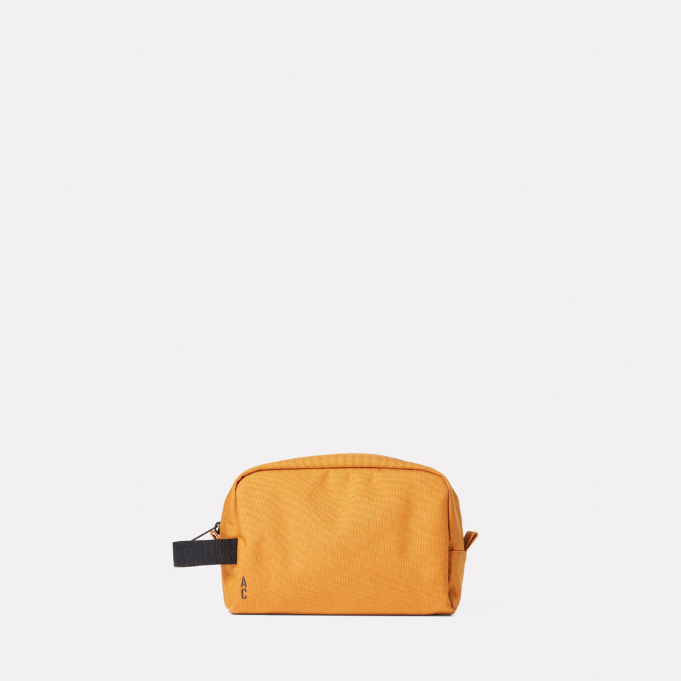 Simon Travel And Cycle Washbag in Orange