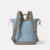 Frances Waxed Cotton Rucksack in Blue