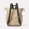 Fin Waxed Cotton Backpack in Putty Back