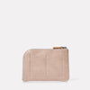 Hocker Medium Leather Purse in Putty Back