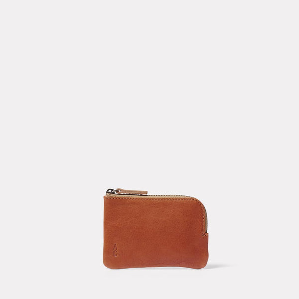 Hocker Small Leather Purse in Tan