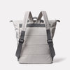 Hoy Travel and Cycle Backpack in Grey/Orange Back