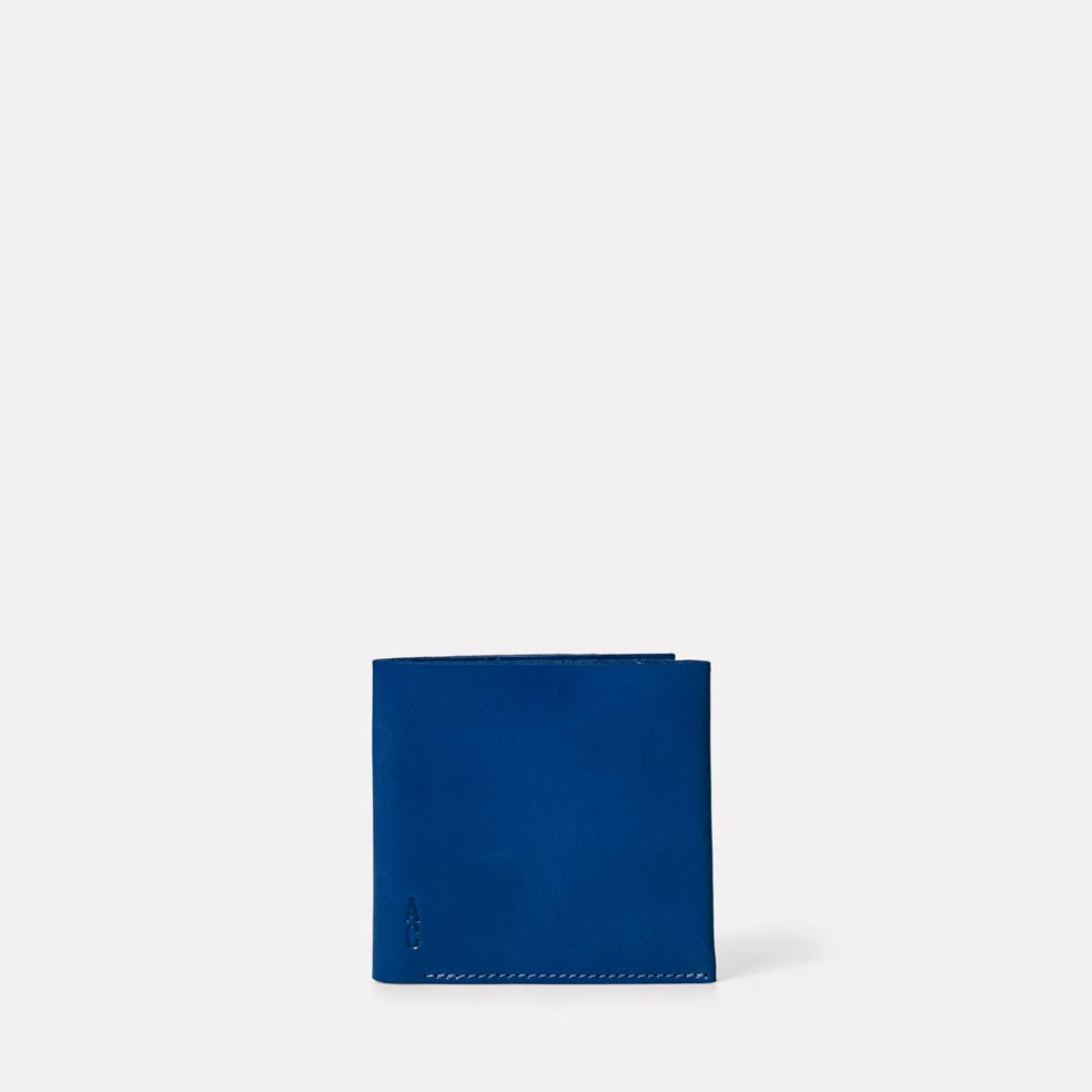 Oliver Leather Wallet in Blue
