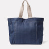 Tim Hemp Tote in Dark Navy Back