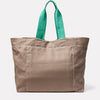 Tim Hemp Tote in Khaki Back