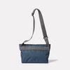 Travis Travel and Cycle Satchel in Navy/Grey Back