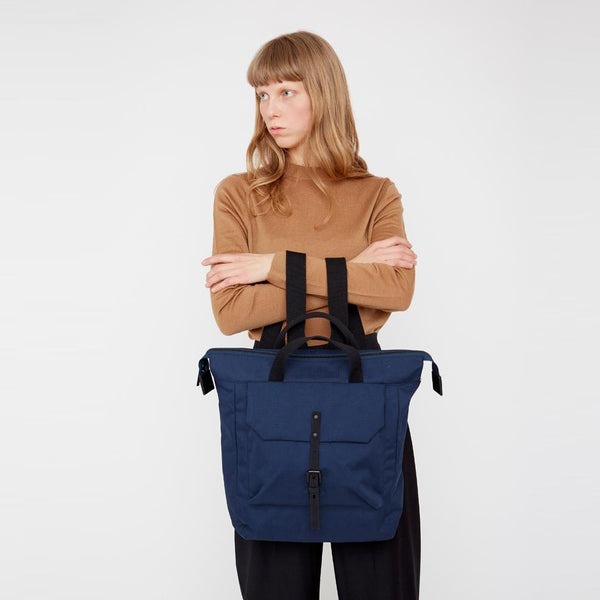 277162f8ad Frances Ripstop Rucksack in Navy
