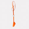 Kamal Stitched Leather Key Ring Lanyard in Orange for Men and Women