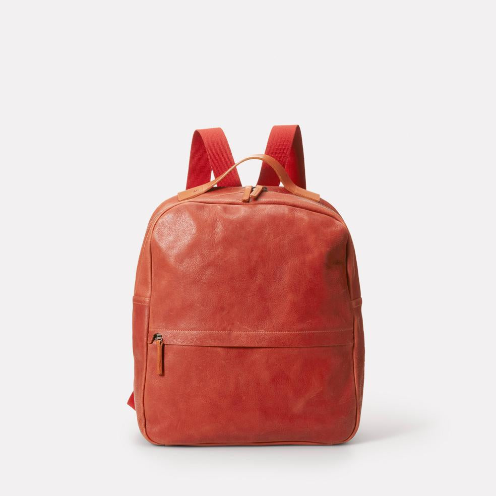 Tàpies Calvert Leather Rucksack in Brandy