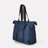 Teddy Ripstop Travel Holdall in Navy With Webbing Straps For Men and Women