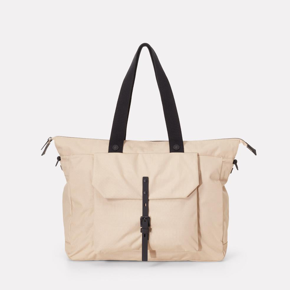 Teddy Ripstop Holdall in Oatmeal