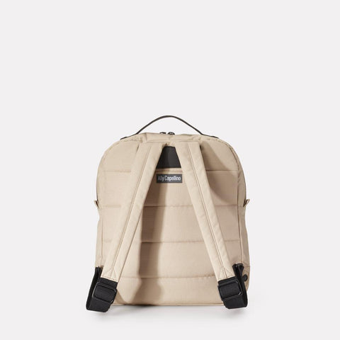 iAn Mid-Sized Ripstop Nylon Backpack in Beige For Men and Women