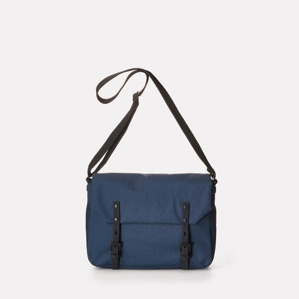 Jez Small Ripstop Nylon Satchel in Navy For Men and Women