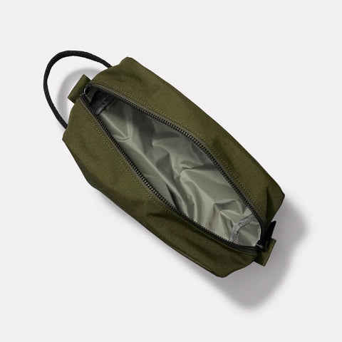 Mini Simon Ripstop Washbag in Green