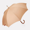 Albert curved handle umbrella in beige